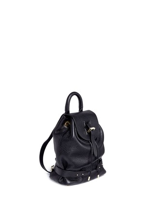 Front View - Click To Enlarge - Meli Melo - Mini pebbled leather backpack