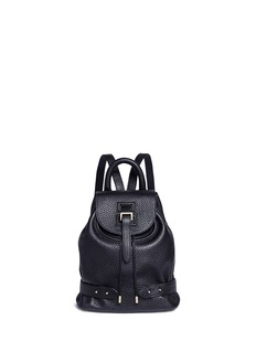 Meli Melo Mini pebbled leather backpack