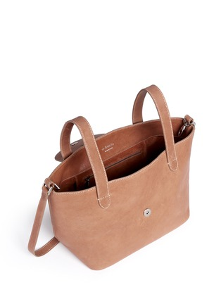 Detail View - Click To Enlarge - Meli Melo - 'Thela' medium leather trapeze tote