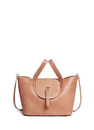 Main View - Click To Enlarge - Meli Melo - 'Thela' medium leather trapeze tote