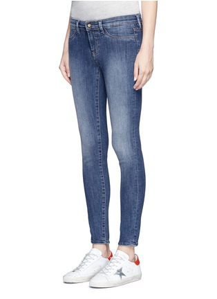 Front View - Click To Enlarge - Denham - 'Spray' skinny jeans