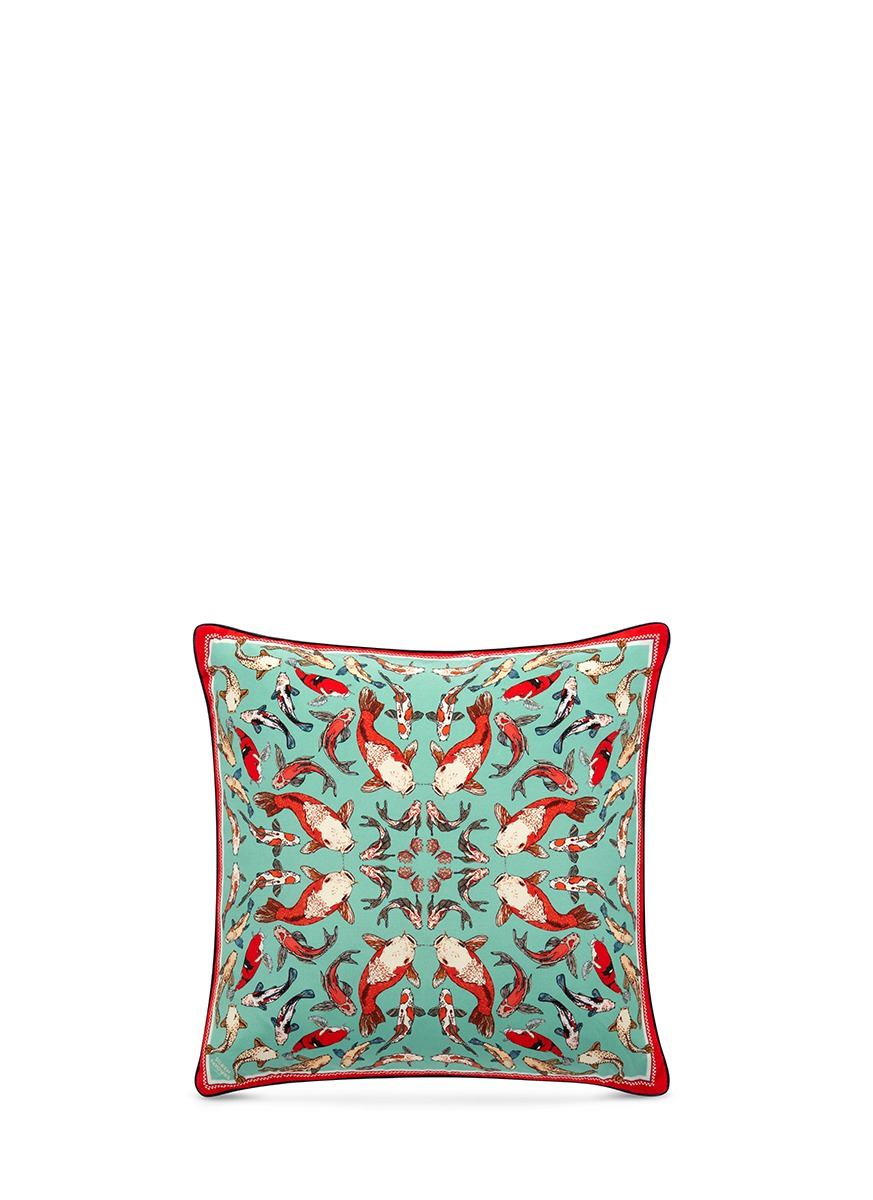 Koi Carp Dreams cushion by Silken Favours