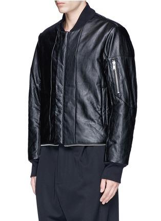 细节 - 点击放大 - DEN IM BY SIKI IM - 两面穿延长式外套