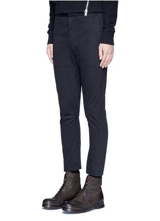 正面 -点击放大 - SIKI IM / DEN IM - 工装感纯棉斜纹长裤