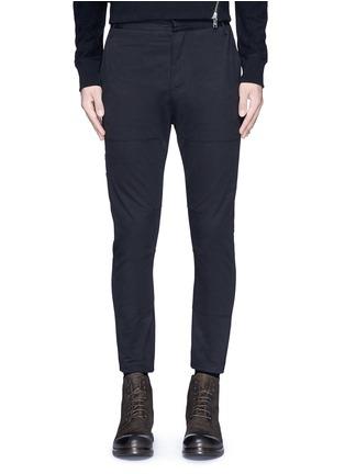 首图 - 点击放大 - SIKI IM / DEN IM - 工装感纯棉斜纹长裤