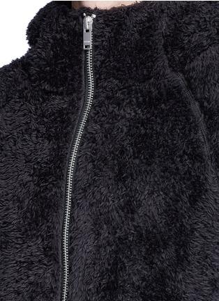 Detail View - Click To Enlarge - SIKI IM / DEN IM - Polar fleece zip hoodie