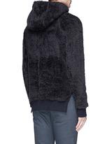 Polar fleece zip hoodie