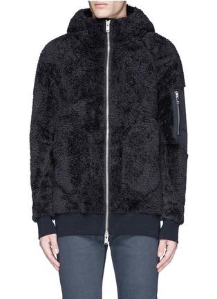 Main View - Click To Enlarge - SIKI IM / DEN IM - Polar fleece zip hoodie