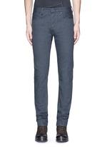 Slim fit cotton selvedge jeans