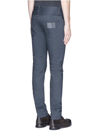 Back View - Click To Enlarge - SIKI IM / DEN IM - Slim fit cotton selvedge jeans