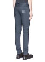 修身低腰纯棉牛仔裤