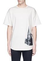 'HEARTBREAKER' print oversized T-shirt