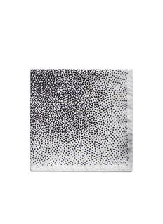LanvinConfetti print silk pocket square