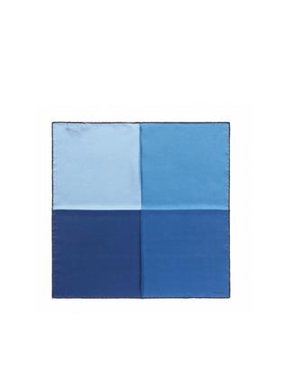 首图 - 点击放大 - LANVIN - 拼色方块真丝袋巾