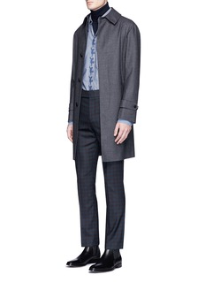 Paul Smith Gingham check wool pants