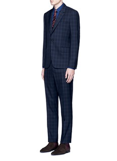 Paul Smith 'Soho' check plaid wool travel suit