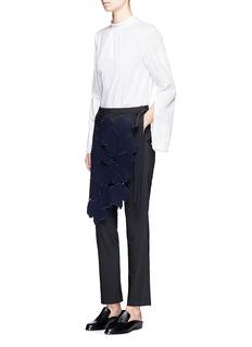 Tibi'Valia' slim fit floral overlay pants