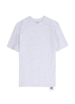 模特儿示范图 - 点击放大 - STUDIO CONCRETE - 中性款心情数字纯棉T恤