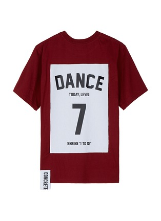 Main View - Click To Enlarge - Studio Concrete - 'Series 1 to 10' unisex T-shirt - 7 Dance