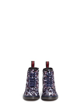 Figure View - Click To Enlarge - Dr. Martens - 'Brooklee' Marceline print canvas toddler boots