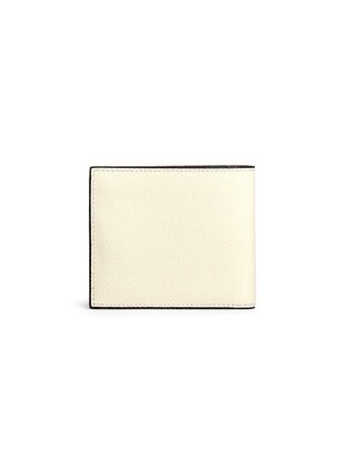 Back View - Click To Enlarge - Valextra - Leather bifold wallet – White