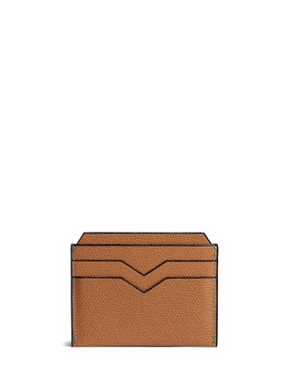 Valextra - Leather card case