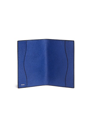 Figure View - Click To Enlarge - Valextra - Leather passport holder