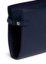 Leather travel accessories case