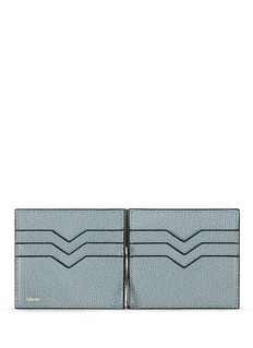 VALEXTRA 'Simple Grip Spring' leather wallet