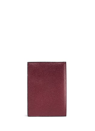 Back View - Click To Enlarge - Valextra - Leather passport holder