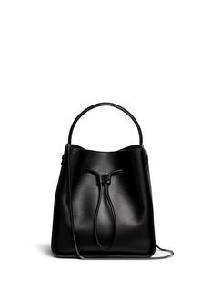3.1 Phillip Lim'Soleil' small leather drawstring bucket bag