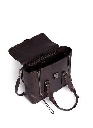 Detail View - Click To Enlarge - 3.1 Phillip Lim - 'Pashli' medium grainy leather satchel