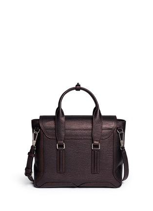Back View - Click To Enlarge - 3.1 Phillip Lim - 'Pashli' medium grainy leather satchel