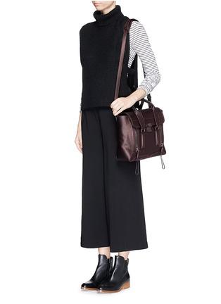 Figure View - Click To Enlarge - 3.1 Phillip Lim - 'Pashli' medium grainy leather satchel