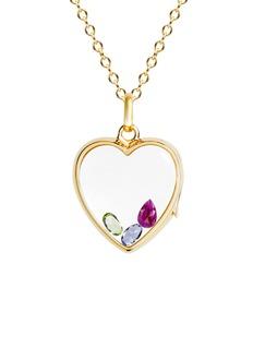 Loquet LondonBirthstone charm − July 'I Love You' ruby