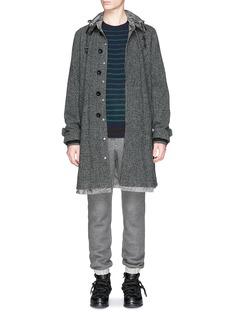 SACAIStripe wool sweater