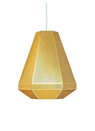 Main View - Click To Enlarge - Tom Dixon - Cell tall pendant light
