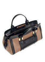 how to spot a fake chloe handbag - CHLO�� - \u0026#39;Alice\u0026#39; two-tone medium leather bag - on SALE | Brown Day ...