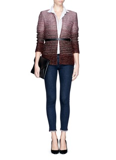 ST. JOHNOmbré tweed jacket
