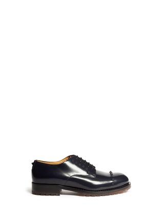 首图 - 点击放大 - VALENTINO - 真皮铆钉系带鞋