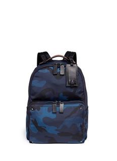 VALENTINOCamouflage print nylon backpack