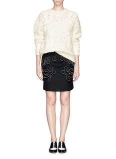 STELLA MCCARTNEY Crochet sweater
