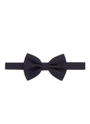 Main View - Click To Enlarge - Armani Collezioni - Silk twill bow tie