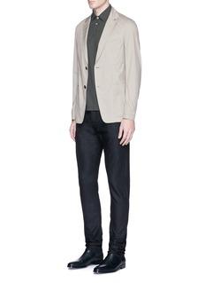 Armani CollezioniSlim fit raw jeans