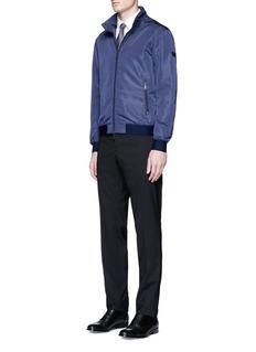 Armani CollezioniCheck jacquard cotton shirt
