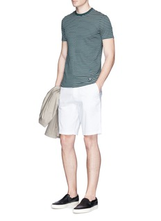 Armani CollezioniStripe print T-shirt