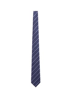 Armani CollezioniRegimental stripe jacquard silk tie