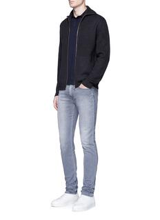 Armani CollezioniSlim fit cotton jersey polo shirt
