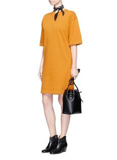 Isabel Marant Étoile'Bryony' fleece lined sweatshirt dress