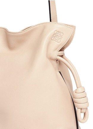 Loewe - 'Flamenco Knot' small leather tote bag